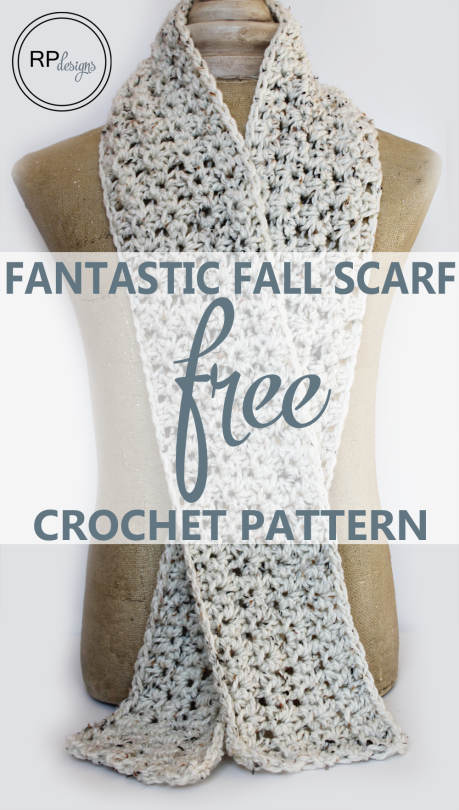 Fantastic Fall Scarf - Crochet Pattern - Rescued Paw Designs ...