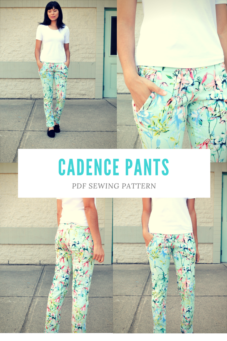 NEW PATTERN FOR SALE: The Cadence Pants | Nähen