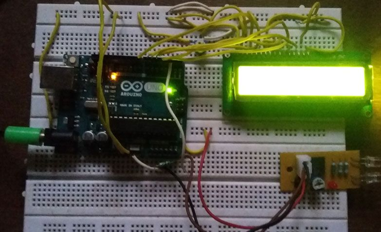 People or visitor or object counter project using arduino and infra ...