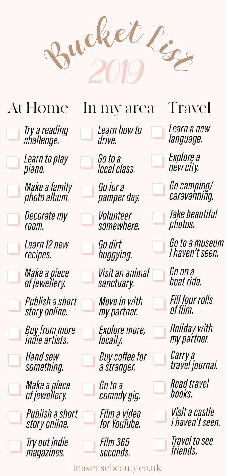Make Your Perfect Bucket List For 2019 > I'll show... - #bucket #forteens #Ill #List #perfect #Show #summerbucketlists