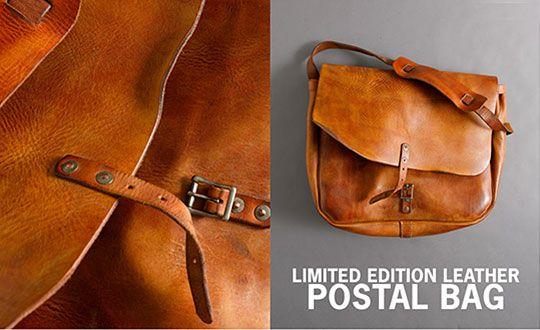 """The Original"" Leather Postal Messenger Bag by J.Crew"