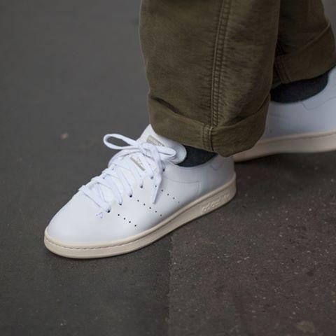 adidas stan smith leather sock