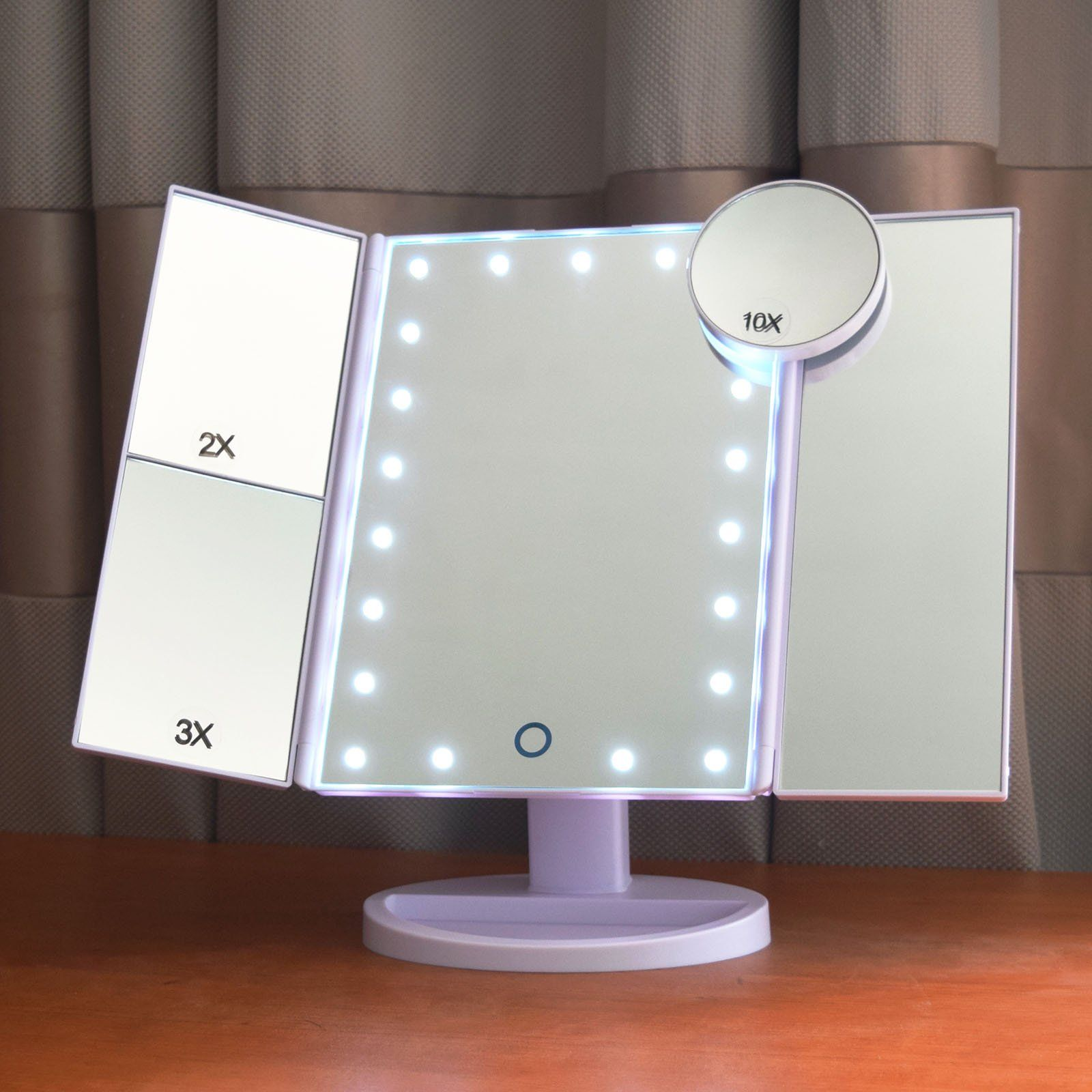 Lighted Make Up Mirror Mirror With Lights Magnifying