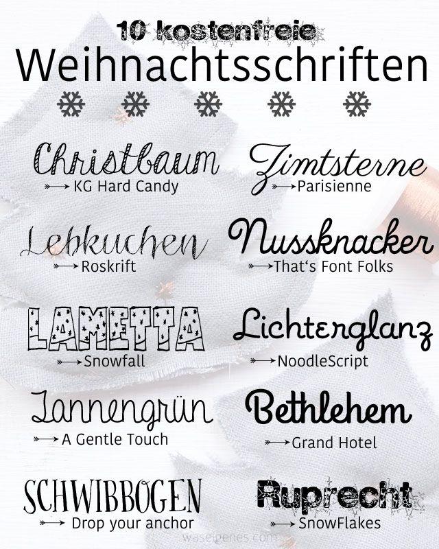 Schöne Weihnachtswörter | schöne Wörter zu Weihnachten
