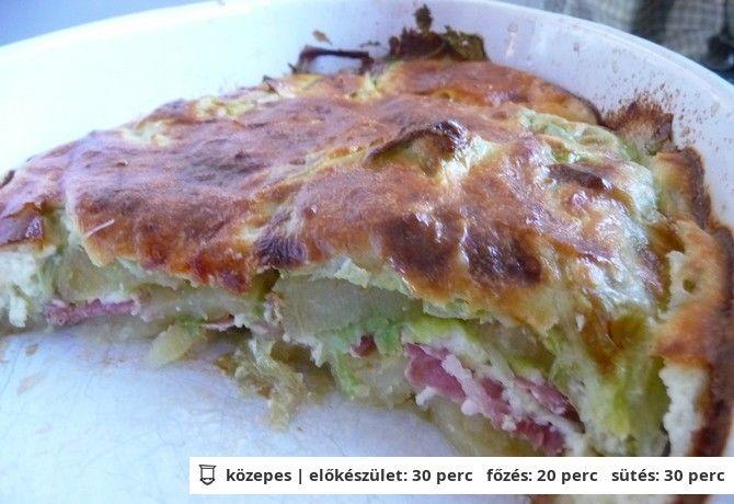 Burgonyás pite 8zsuzsa8 konyhájából