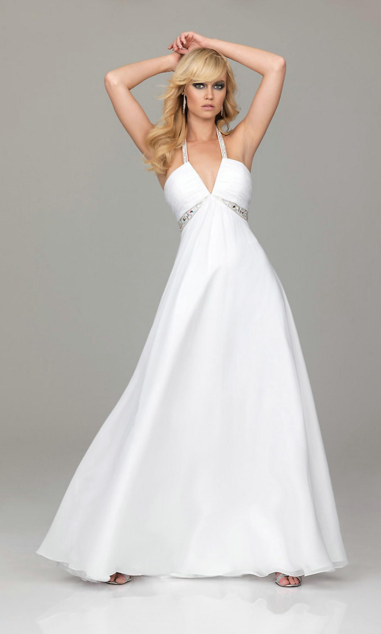Collection White Formal Dress Pictures - Gift and fashion