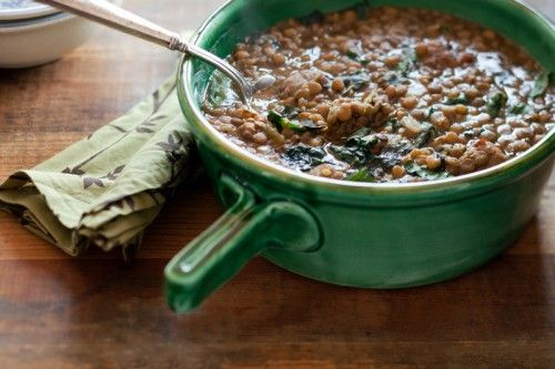 Portuguese Lentil and Winter Greens Soup - Image from http://www.wellfedheart.com/recipes/portuguese-lentil-soup/?utm_source=The+Well-Fed+Heart_campaign=cc22188cc0-Weekly+WFH+15-Jan-24_medium=email#