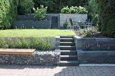 bildergebnis für gartengestaltung hanglage gabionen | gartenanlage, Garten und erstellen