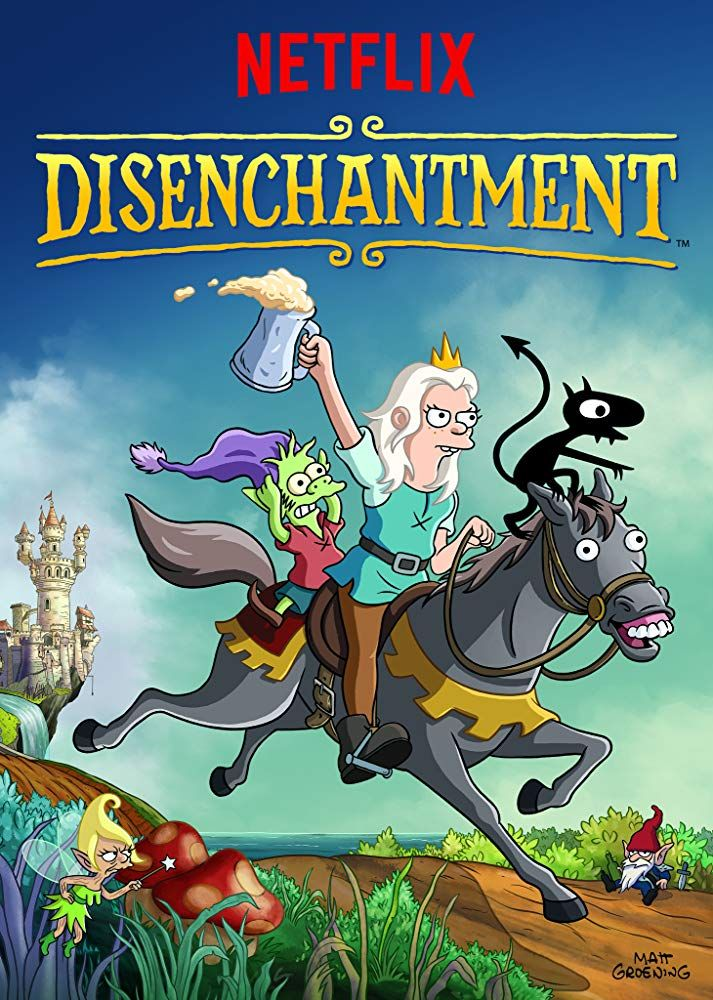 Disenchantment American adult animated fantasy