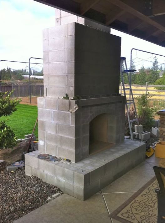 Prefab Outdoor Fireplace For The Home In 2019 Outdoor Outdoor
