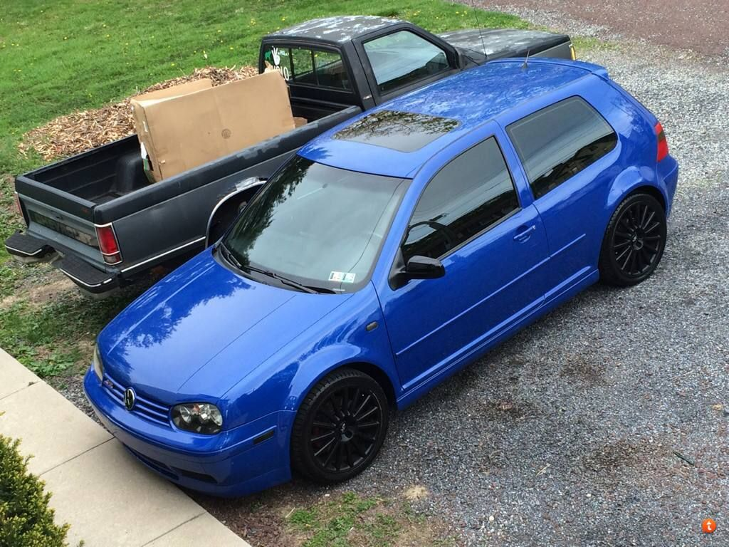 Feeler Fs Ft 2003 Jazz Blue 20th Anniversary 131k Pennsylvania Volkswagen Golf Gti Vw Golf Mk4 Vw Golf