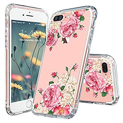 Iphone 7 Plus Case Mosnovo Floral Collection Printing Flower Clear Design Transparent Plastic Hard Iphone 7 Plus Cases Iphone Case Fashion Cute Iphone 7 Cases