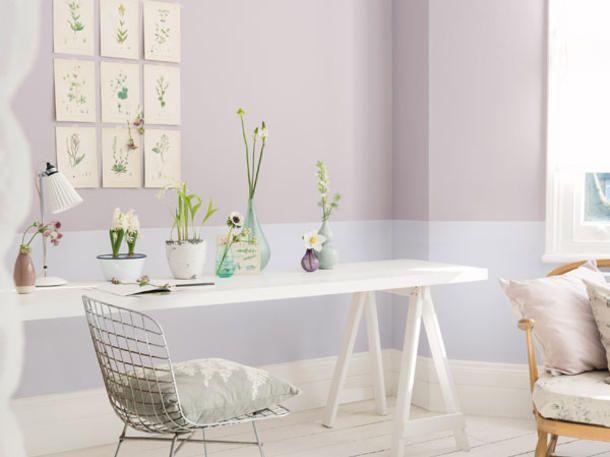 AuBergewohnlich Gestaltung Mit Wandfarben: Pastell