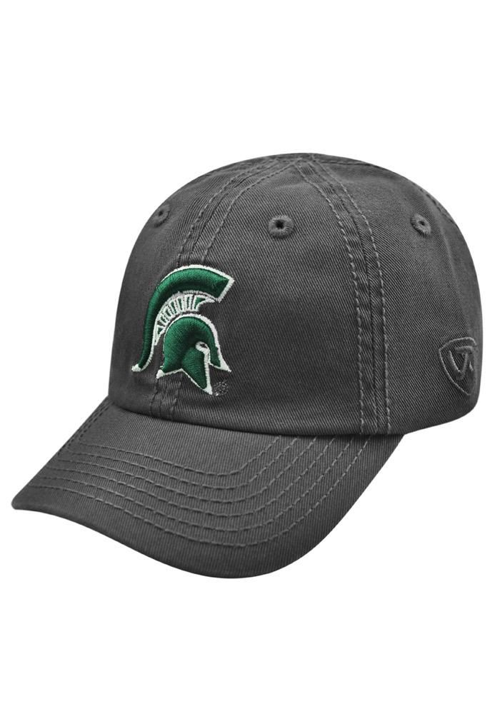 separation shoes 05a86 43eff Top of the World Michigan State Spartans Grey Crew Adjustable Toddler Hat,  Grey, WASHED COTTON, Size ADJ