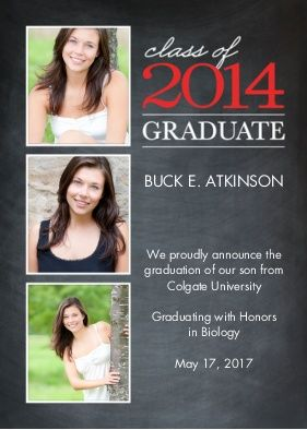Graduation Photo Cards Personalized
