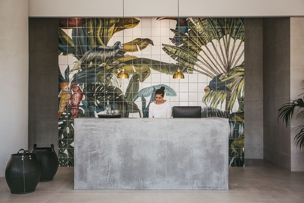Magical Jungles for the tiles of Casa Cook Hotel. on Behance