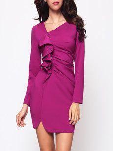 e8613405b5 Fashionmia womens cocktail dresses with sleeves - Fashionmia.com ...