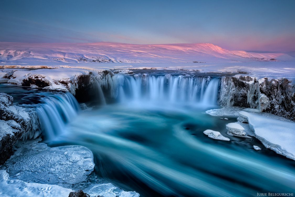 водопад годафосс исландия