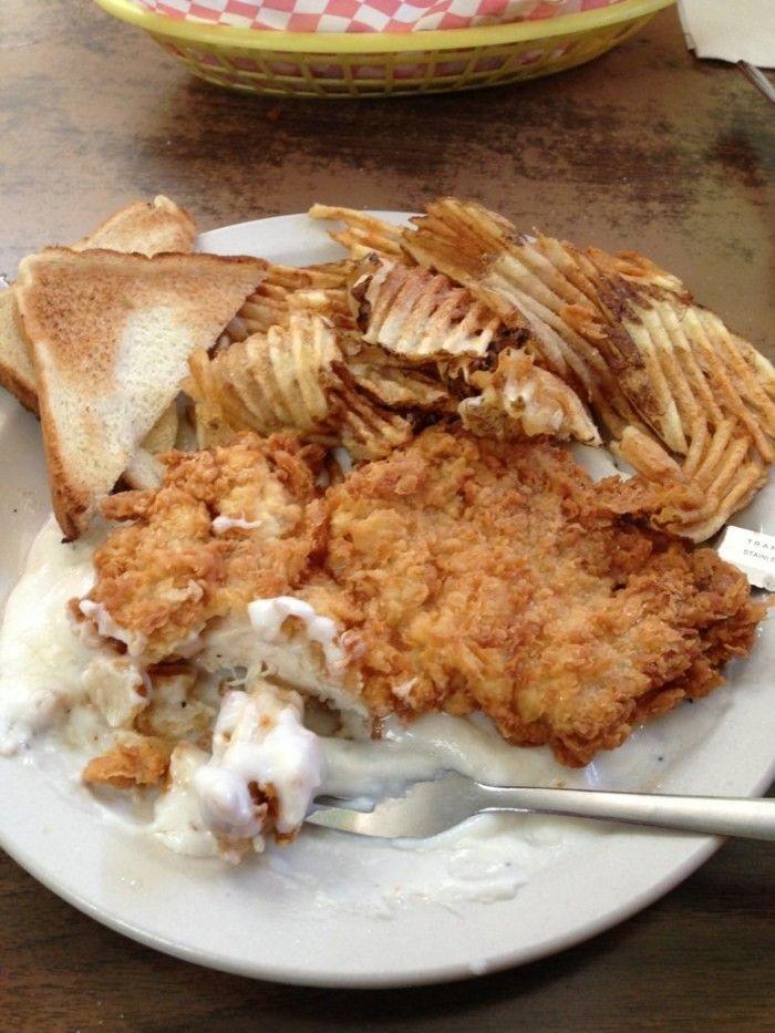 these 10 restaurants serve the best chicken fried steak in texas