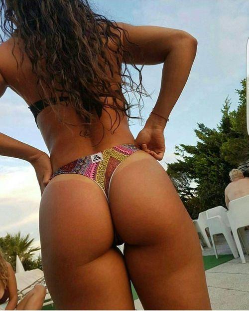 Bikini healthy butt think, that