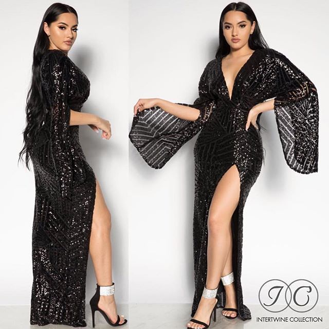 68803db1bc6 BEST EXCLUSIVE DRESS Our  QUEEN OF SLAY SEQUIN DRESS - BLACK ! Check ...