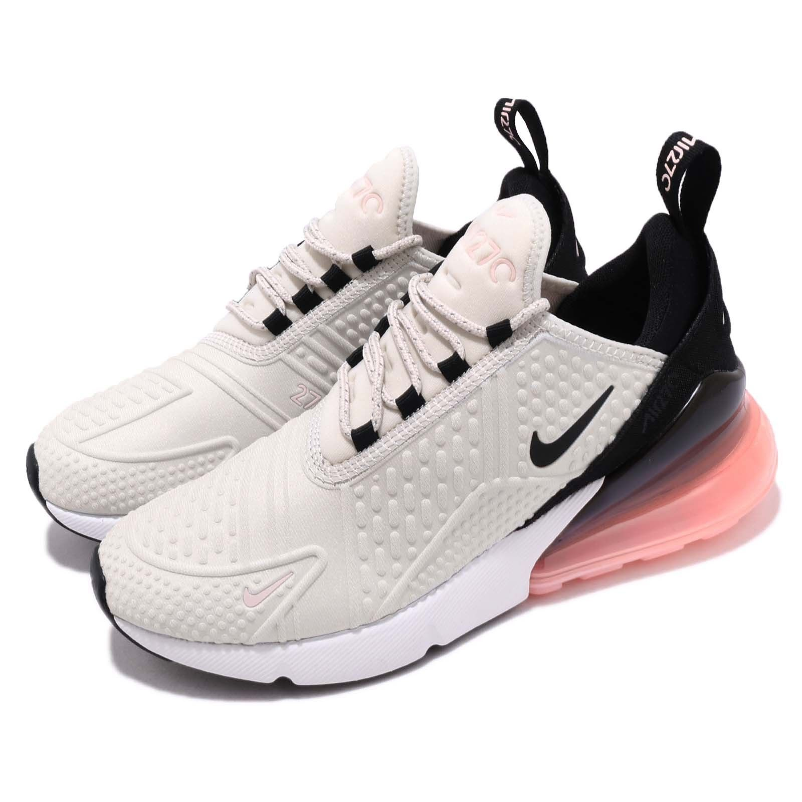 27ce624a47bb5f Details about Nike Air Max 270 SE GS Pink Grey White Kid Youth Women ...