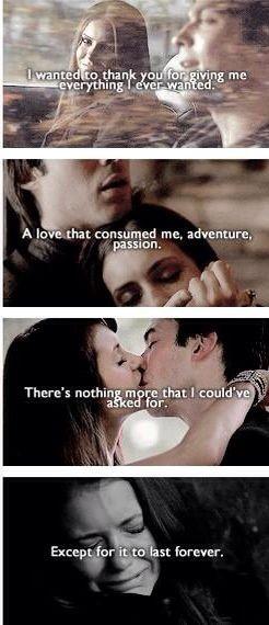 hvem dater hvem på vampyr dagbøgerne bedste citater til dating profiler