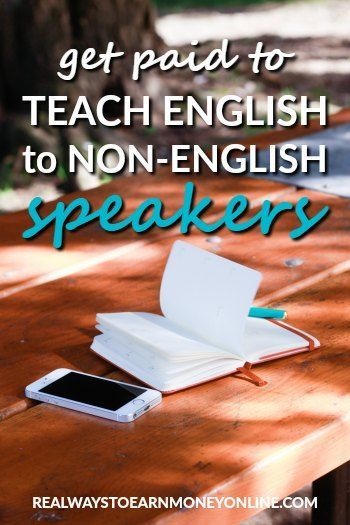 Work from home teaching english
