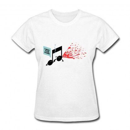 Women's Custom breakup song Short Sleeve T-Shirt | Easy Custom Music
