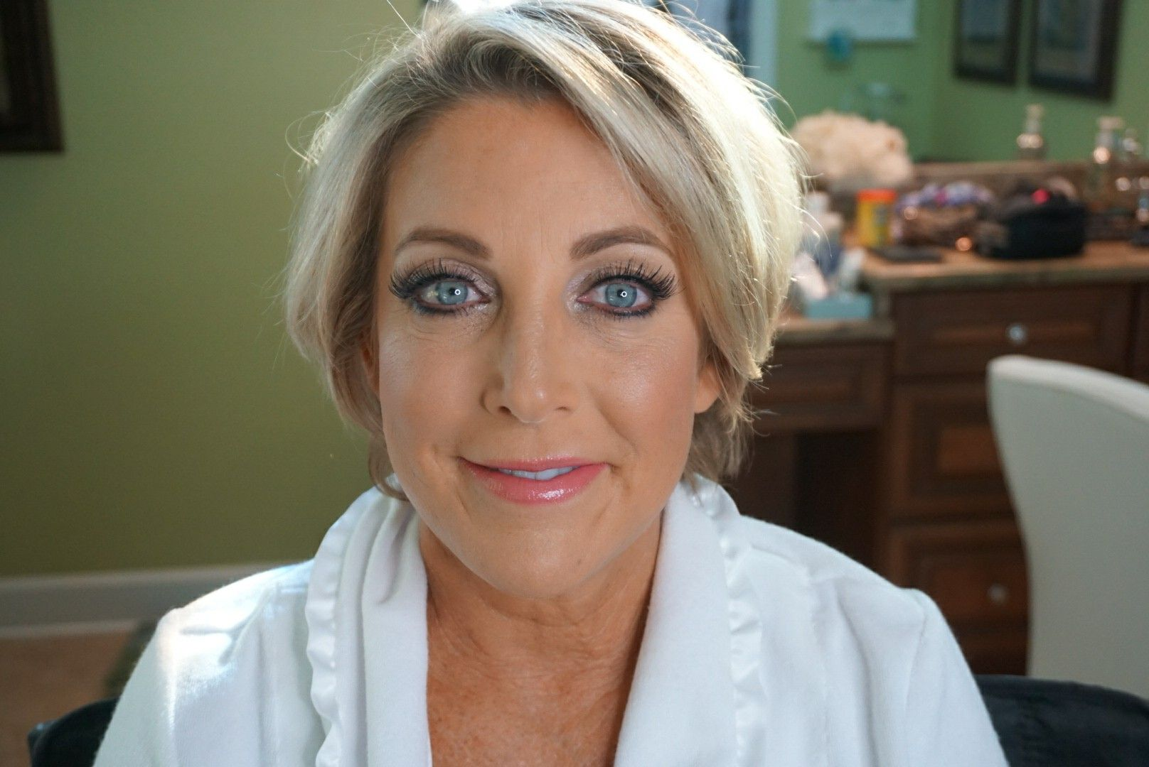 Gorgeous Flawless Bridal Makeup For Older Women By Artist Corine
