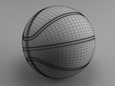 Basketball Ball 3ds Max Modeling Tutorial 공부 및 그리드