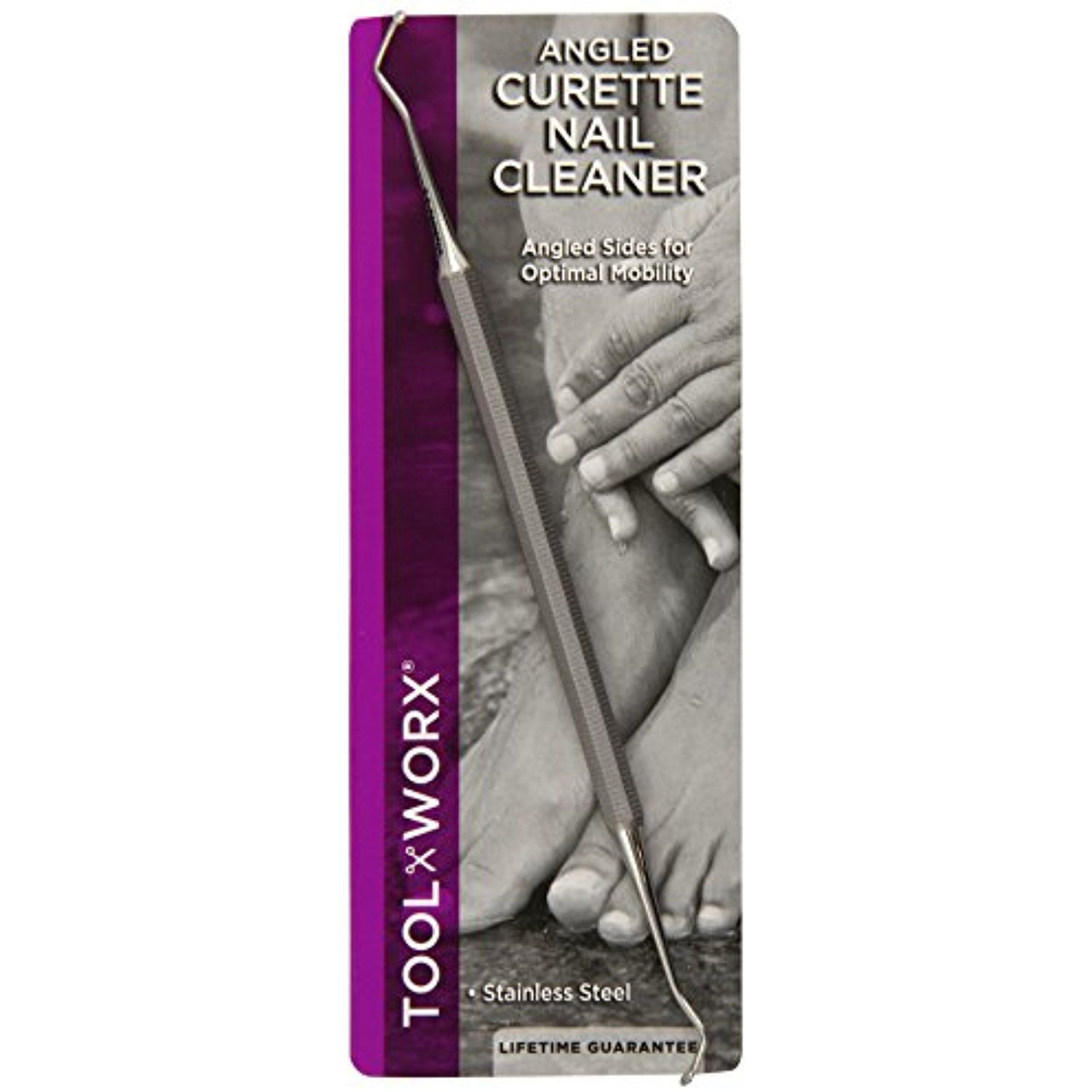 Toolworx Angled Curette Nail Cleaner >>> You can find more details ...