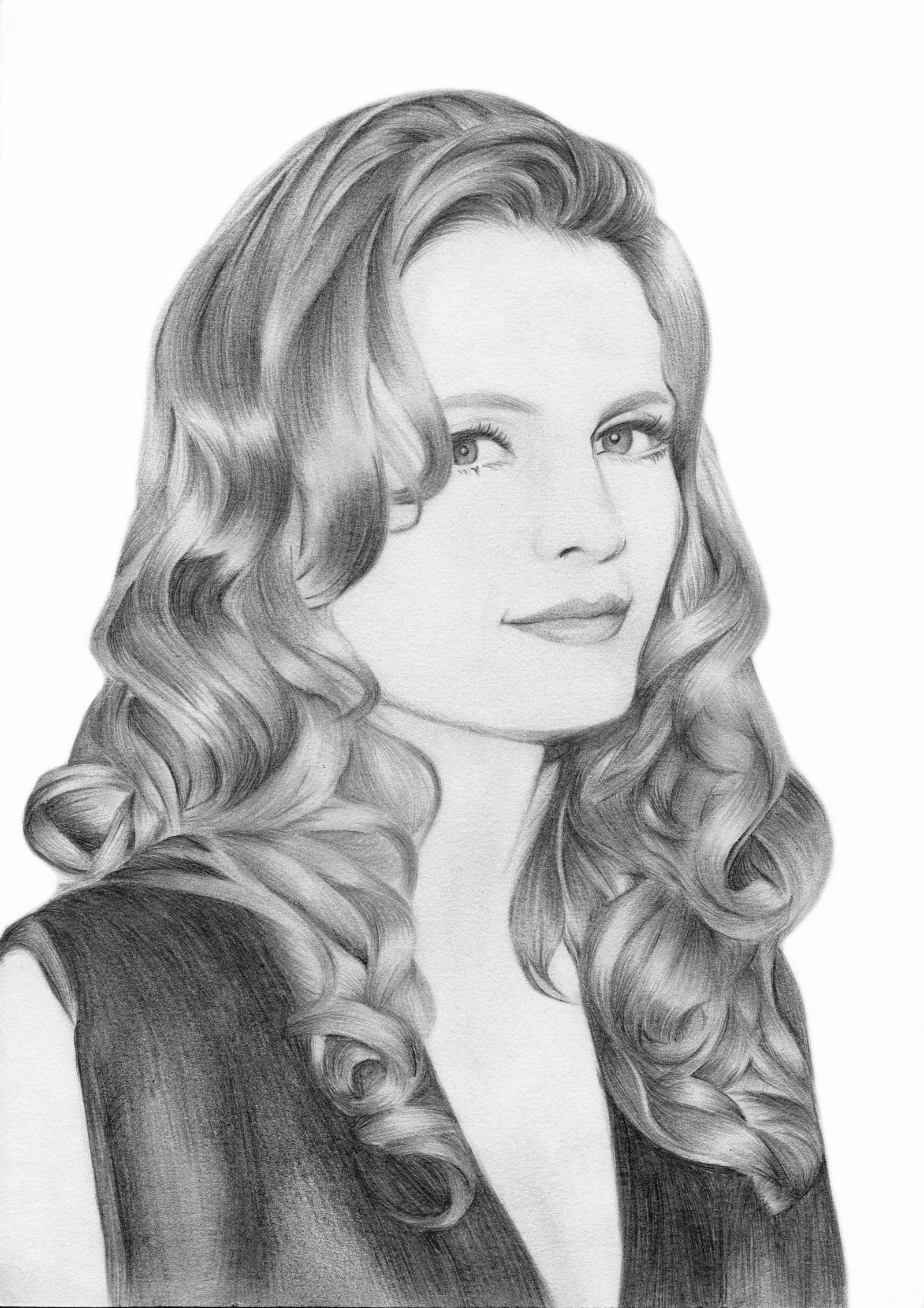 Stana Katic by Emily Cheng