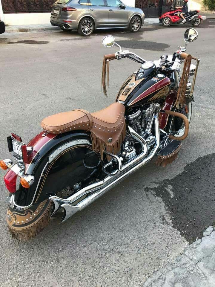 Beautiful ride,Indian motorcycle.