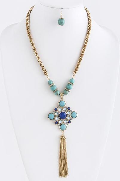 Necklace & Earring Set: G... - Baublefied | Scott's Marketplace