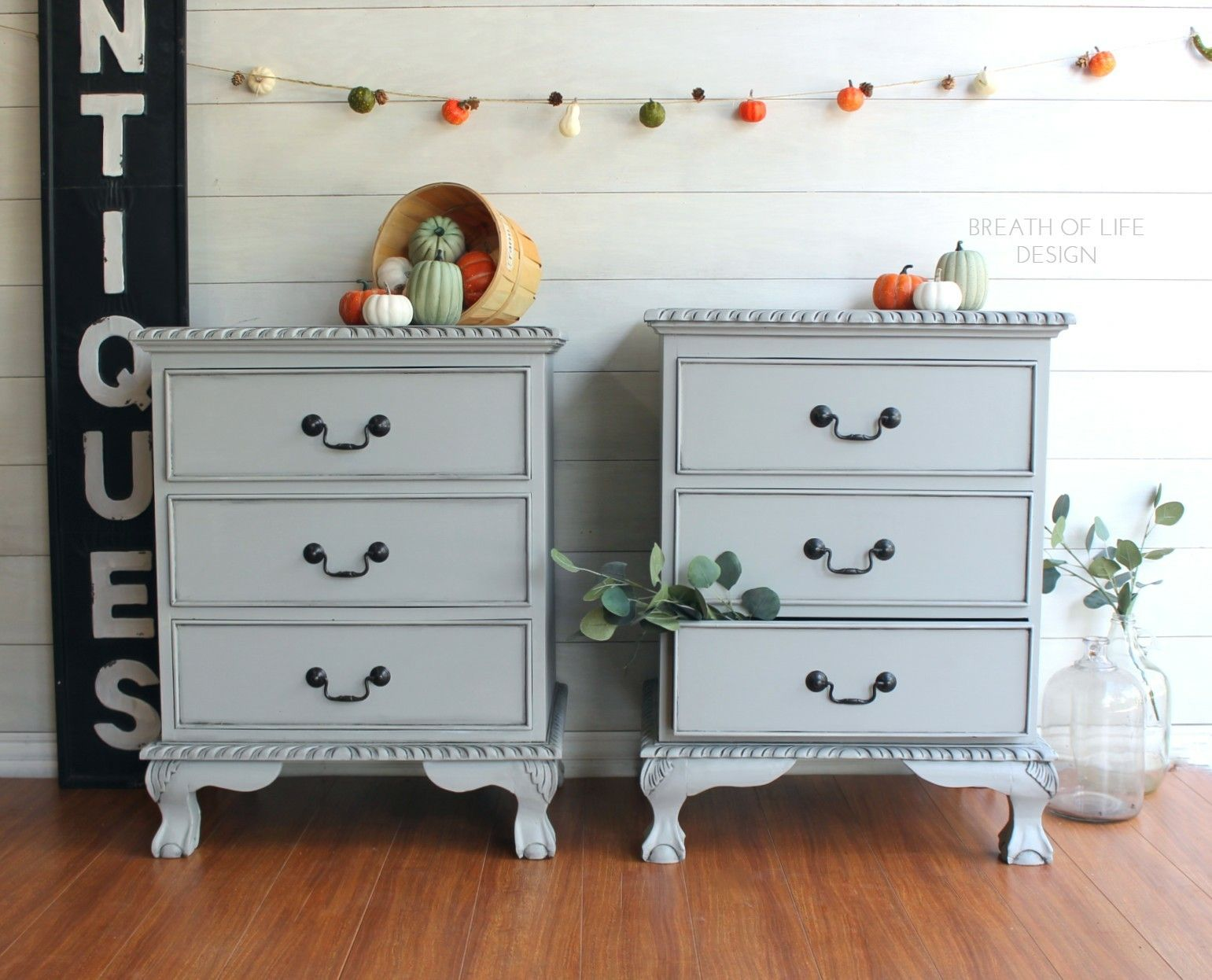 Driftwood Neutral Gray Matching Nightstands Refinished Nightstand Dresser As Nightstand Furniture
