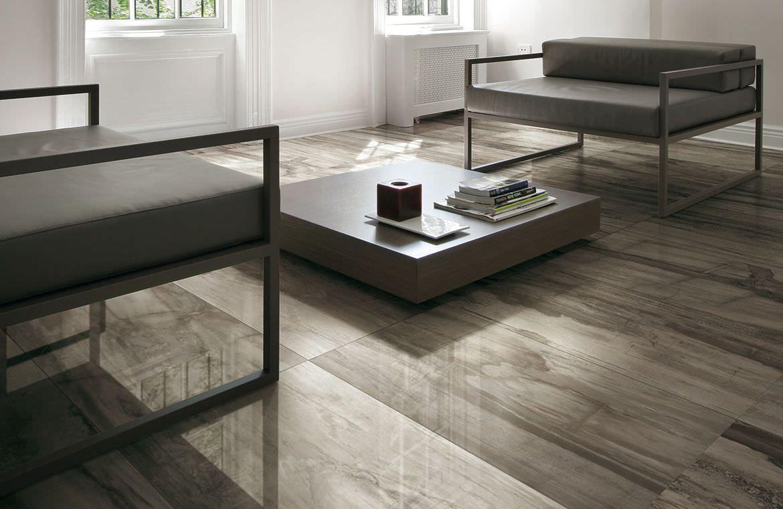 Floor tile / ceramic / indoor / stone look - PETRIFIED ...