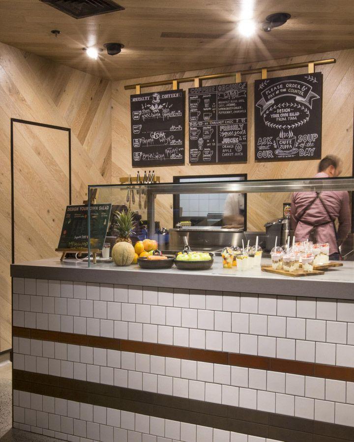 Tap espresso and salad bar by Morris Selvatico, Sydney Australia ...
