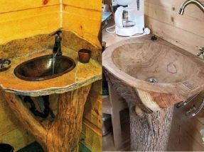 Decoration: 25 Best Rustic Bathroom Vanities Ideas On Pinterest Barn Barns  B With Regard To