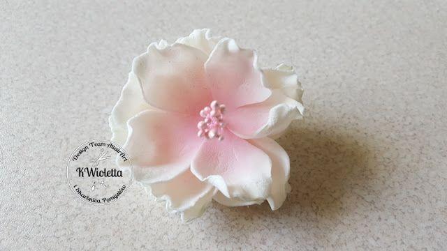 Kurs Na Kwiaty Z Zimnego Foamiranu Fabric Flowers Diy Flower Tutorial Paper Flower Tutorial