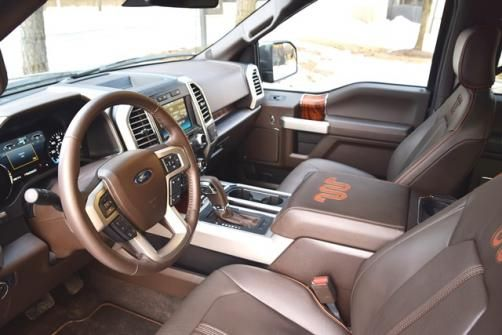 2015 Wardu0027s 10 Best Interiors Winners U002715 Ford F 150 King Ranch, $60,675.