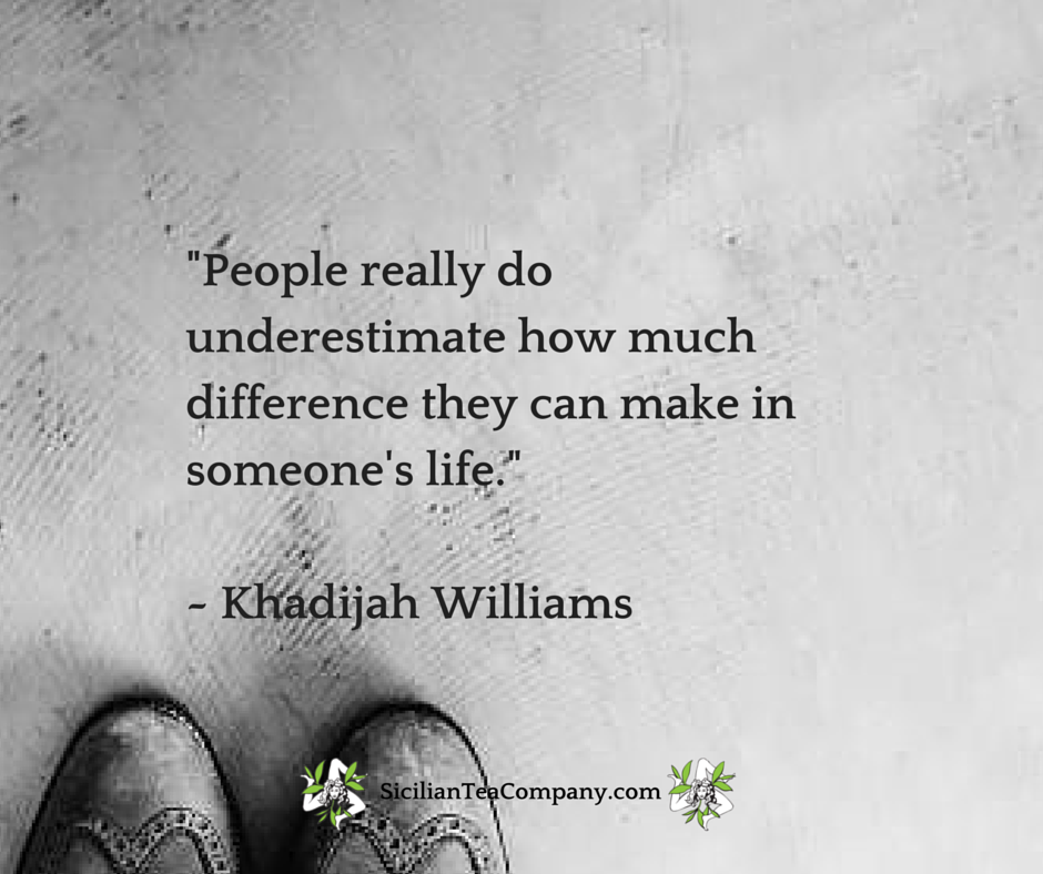 I Want To Leave This World Having Made A Difference In Some Way Love This Quote From Khadijah Williams Quotes I Want To Leave Things I Want