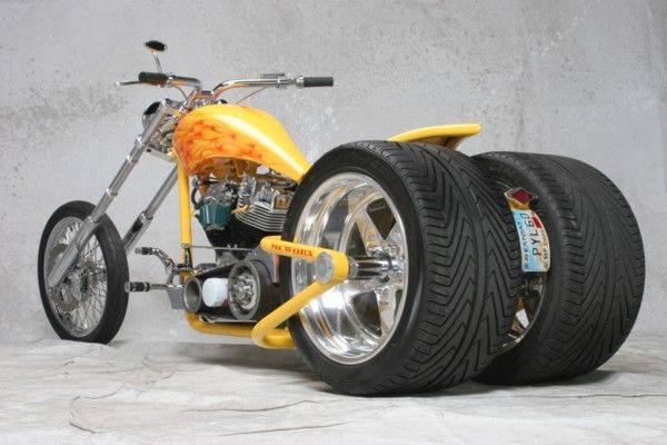 TRIKE Rolling Chassis | Partners | Trike motorcycle, Chopper