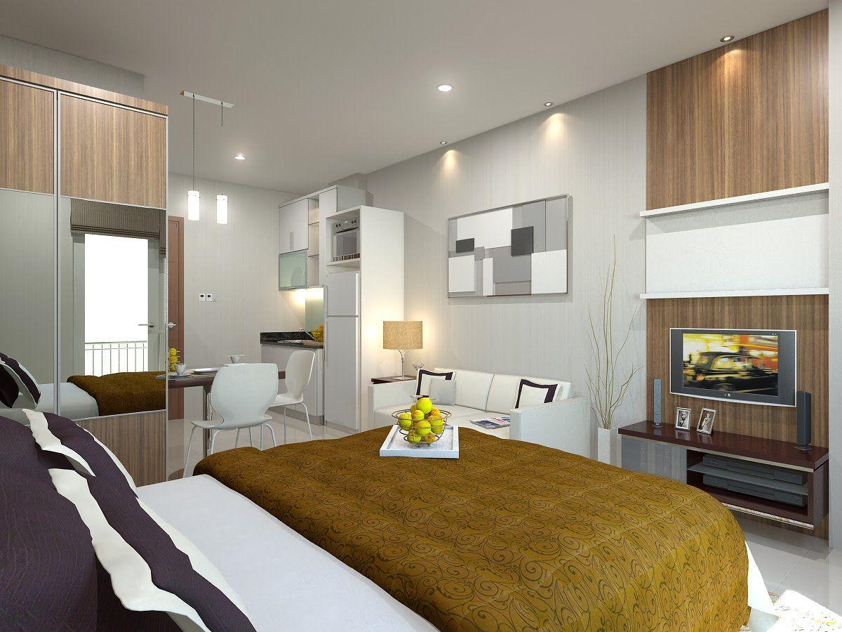 Interior Design For One Bedroom Apartment Photo
