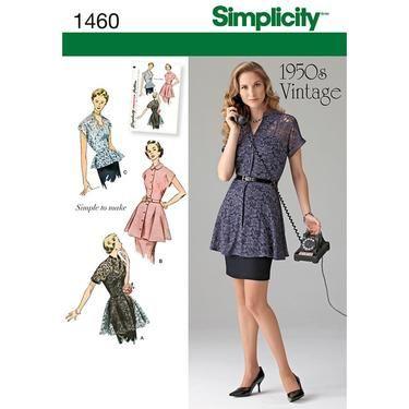 Simplicity Vintage 1460 Women\'s Top | Spotlight Australia ...