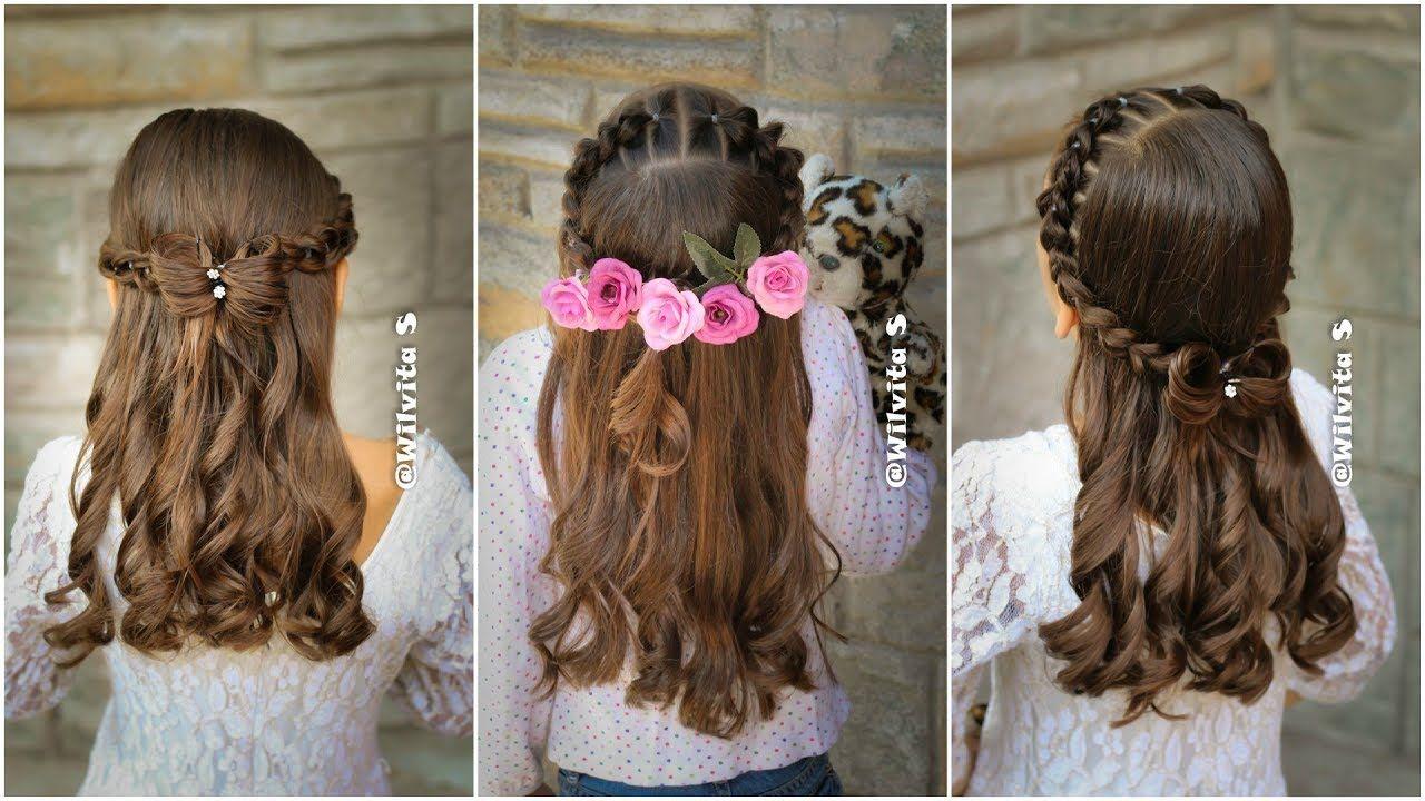 Peinado Facil Elegante Y Rapido Para Ninas Peinados Faciles Y Rapidos Peinados Faciles Y Rapidos Peinados Elegantes Peinados Para Ninas