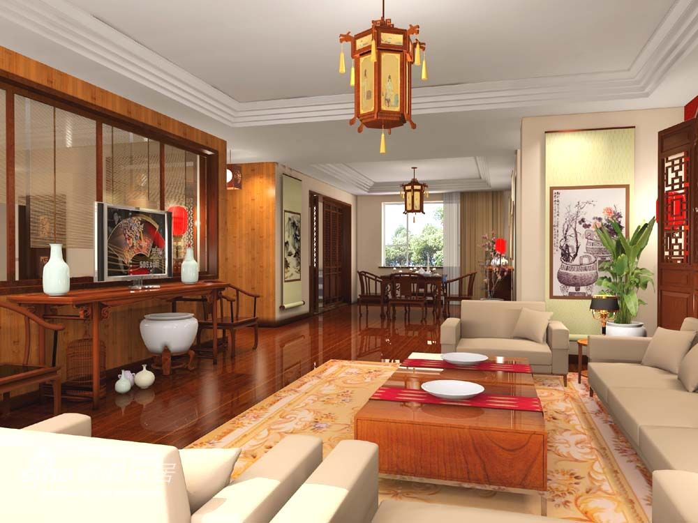 This Asian Interior Design Is Based On Asian Traditional Interior