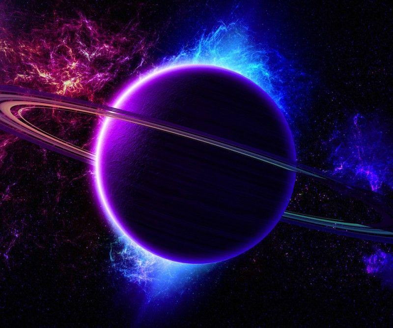 Космос / Фото и картинки | Blue colour wallpaper, Colorful