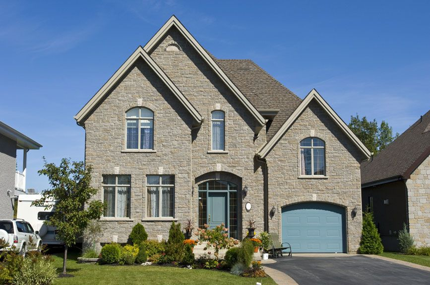 Elegant Stone Cottage - 90031PD | 2nd Floor Master Suite, Bonus Room, CAD Available, Canadian, European, Metric, PDF, Photo Gallery, Split Level | Architectural Designs