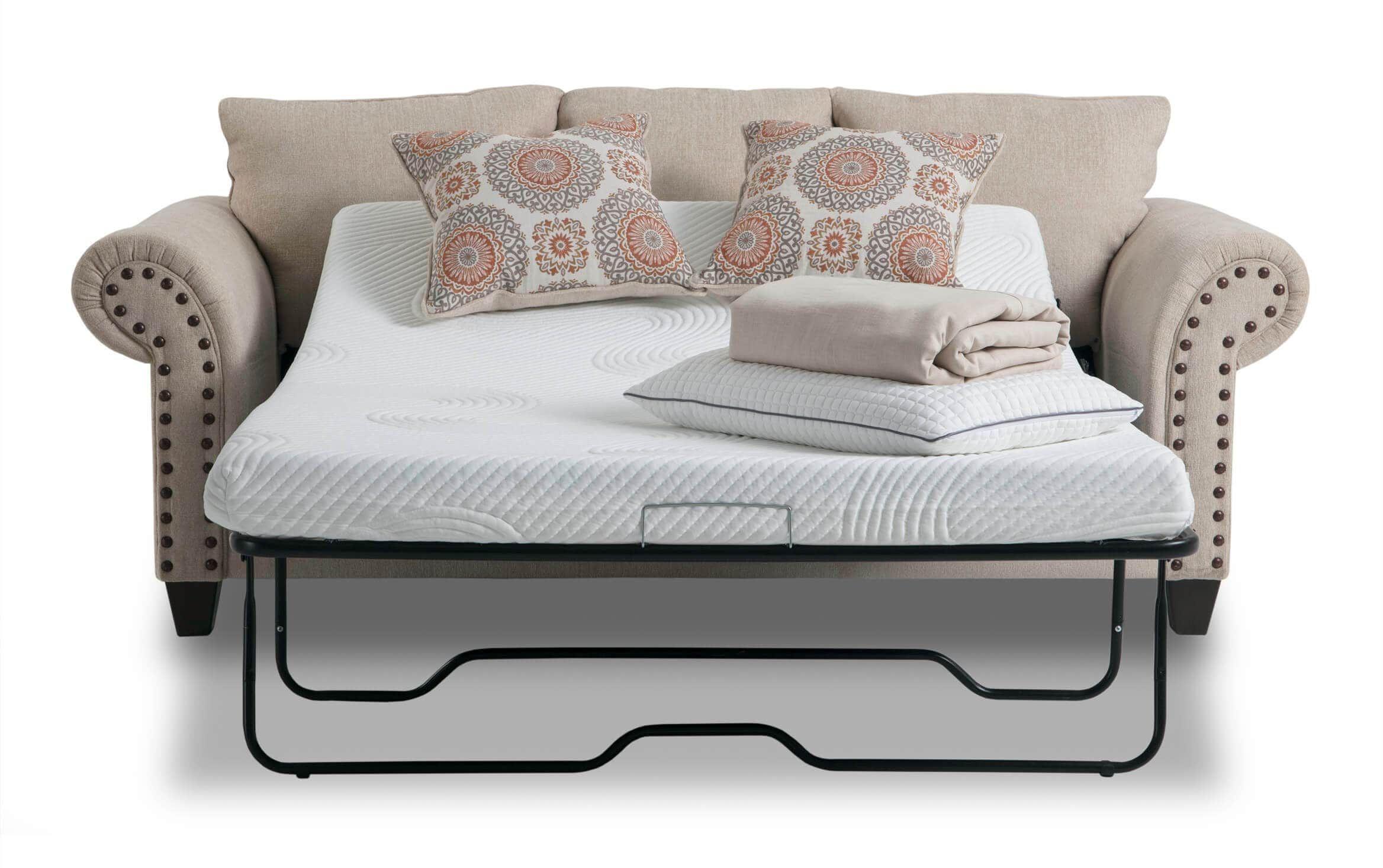 Artisan Beige BobOPedic Full Sleeper Sofa in 2020 Full